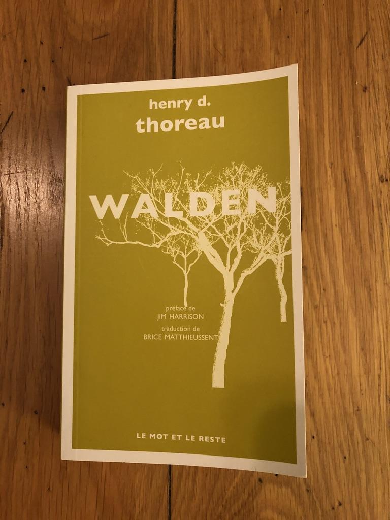 Atelier d'écriture H.D Thoreau Walden